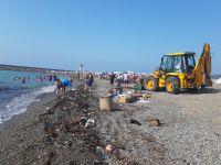Gurbetçiler sahilde şok oldu
