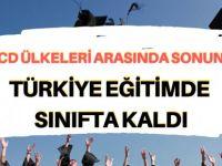 Türkiye, eğitimde sınıfta kaldı