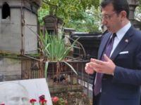 İmamoğlu'ndan sanatçıların mezarına ziyaret