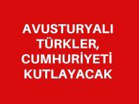 Avusturyalı Türkler, Cumhuriyeti kutlayacak