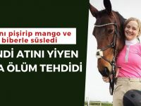 Kendi atını yiyen kıza ölüm tehdidi