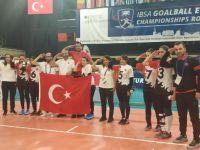 Golbol Kadın Millli Takımı Avrupa şampiyonu