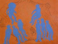'Göç' sergisi sanatseverlerle buluşuyor