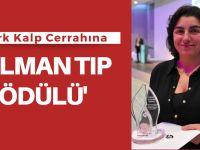 Türk Kalp Cerrahı, Alman Tıp Ödülü'nü aldı
