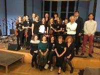 İstanbullu öğrencilerden Almanya'da müzik ziyafeti