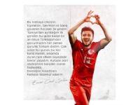 Enver Cenk Şahin'den teşekkür mesajı