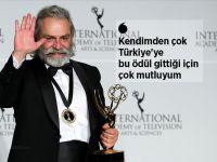 Haluk Bilginer, Emmy Ödülü'ne layık görüldü