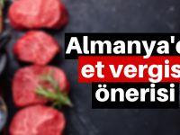Almanya'da et vergisi gelebilir