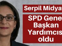 Midyatlı,SPD Genel Başkan Yardımcısı oldu