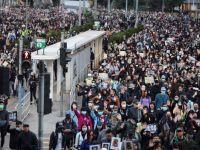 Hong Kong'da eylemcilerden, 'son çağrı'