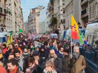 Fransa'da 'genel grev' protestoları tekrar başladı