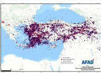 Türkiye, geçen yıl 23 bin kez sallandı