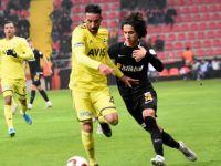 Kayserispor-Fenerbahçe maçından gol çıkmadı