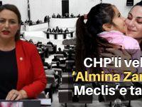 CHP'li vekil 'Almina Zara'yı Meclis'e taşıdı