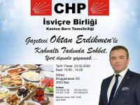 CHP, İsviçre'de toplantı düzenliyor