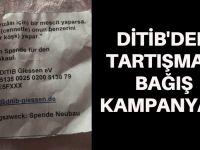 DİTİB'den tartışmalı bağış kampanyası