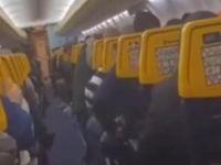 Belçika uçağında türbülans paniği