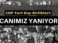 CHP Yurt Dışı Birlikleri katliamı kınadı