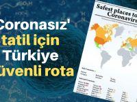 'Coronasız' tatil için Türkiye önerisi