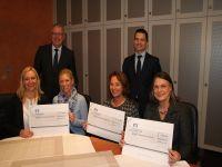 Rüsselsheimer Volksbank unterstütz mit Spenden regionale soziale Schulprojekte