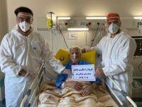 106 yaşındaki hasta koronayı yendi