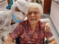 Koronavirüsü yenen en yaşlı insan oldu