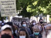 Almanya'da George Floyd protestosu