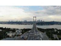 15 Temmuz Şehitler Köprüsü'ndeki trafik alışılan görüntülerine döndü