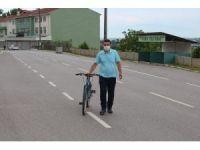 Kızını Görebilmek İçin Sakarya'dan Çanakkale'ye Bisikletle Gitti