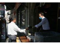 İş yerini açtı vatandaşa çorba dağıttı
