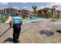Süleymanpaşa'da tüm alanlar dezenfekte edildi