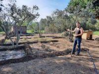 İşsiz kalınca evinin bahçesinde tarıma başladı