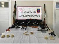 Konya'da silah kaçakçılarına operasyon: 4 tutuklama