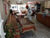 Nevşehir'de çay ocağı ve kıraathaneler dezenfekte edildi