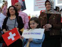 İsviçreli Türklerden dostuk mesajı