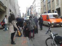 Belçika'da Türk mahallesine polis baskını