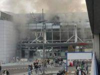 Brüksel Havalimanı'nda çifte patlama