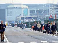 Belçika'ya uçak ve tren seferleri durduruldu