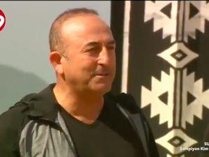 Bakan Çavuşoğlu Survivor'da