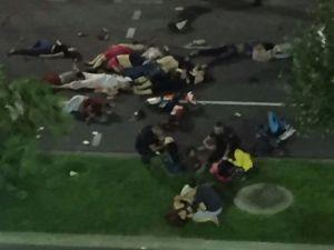 Fransa terör saldırısı sonrası panik