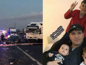 Gurbetçi aile tırın altında kaldı: 6 ölü