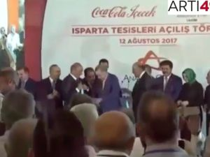Erdoğan, Coca-Cola fabrikası açılışı yaptı