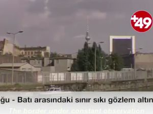 Doğu Berlin'den Batı'ya kaçış görüntüleri