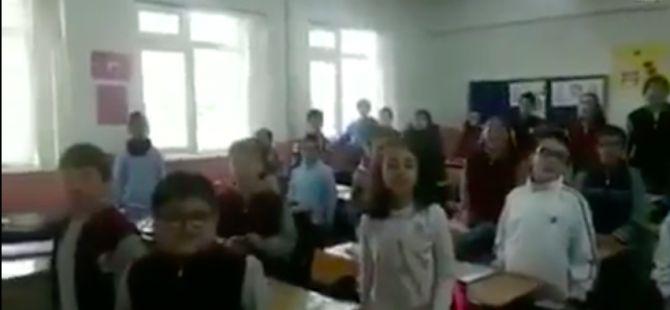 Türkiye'de bir ilkokul...