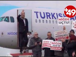 CHP'den hükümete maket uçaklı tepki