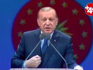 Erdoğan: İnternet denilen bir şey var