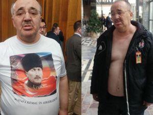 Atatürk tişörtüyle meclise almadılar