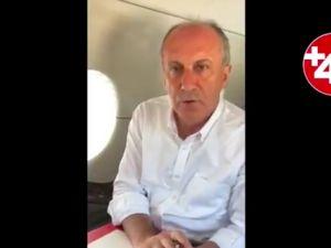 Muharrem İnce 'den yurt dışındaki seçmenlere çağrı