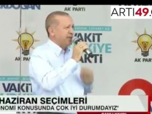 Erdoğan: Her eve buzdolabı giriyorsa refah seviyesi var demektir