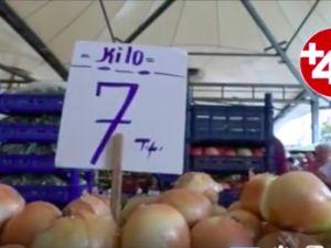 Soğanın kilosu 7 lira